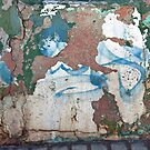 Tattered Abstract by phil decocco