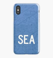 SEA Seattle-Tacoma Airport Code Phone Case and Skin iPhone Case/Skin