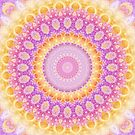 Mandala of Summer in Pink, Orange, and Purple by Kelly Dietrich