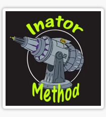 Doofenshmirtz's Inator Method Sticker
