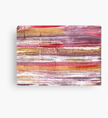 Lavender blush abstract watercolor background Canvas Print