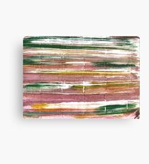 Light taupe abstract watercolor background Canvas Print