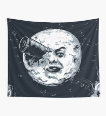 A trip to the moon Wall Tapestry
