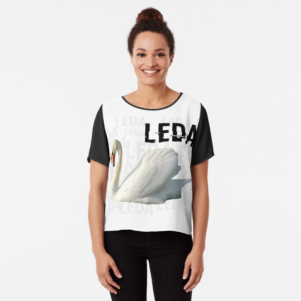 Project Leda & The Swan - Orphan Black Chiffon Top