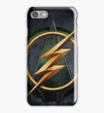 Arrow Flash Crossover iPhone Case/Skin