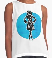 Ed Sheeran Nancy Mulligan design - Blues song Contrast Tank