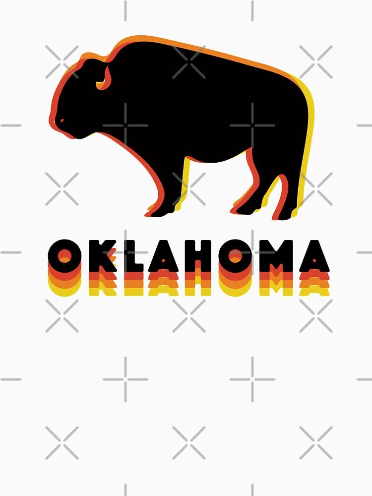 Retro Buffalo by doodlebymeg
