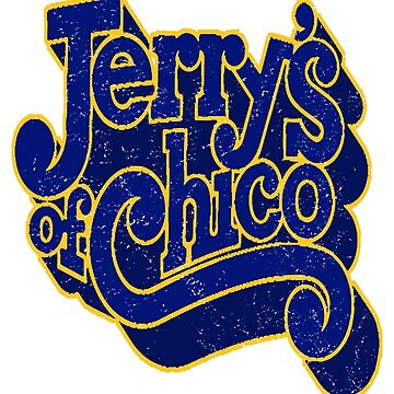 Jerry's of Chico 1970s Style Logo by Fotopia