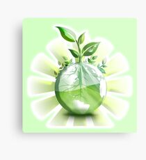 Ecology, Earth science, Environment, Eco, Ecosystems, Green Metal Print