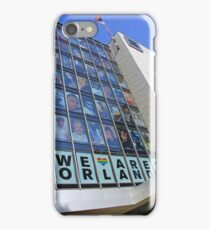 The Faces Of Orlando On The Human Rights Campaign Building iPhone Case/Skin