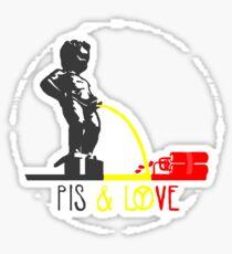 Manneken pisse Sticker