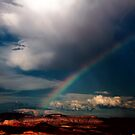 Rainbow over Zion National Park by Ryan Houston