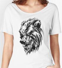 Black Werebear Women's Relaxed Fit T-Shirt