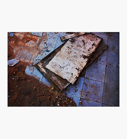 Dirt + Linoleum Photographic Print
