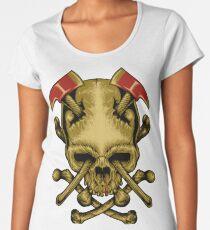 Skull Axe Women's Premium T-Shirt