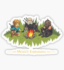 World Explorers Sticker