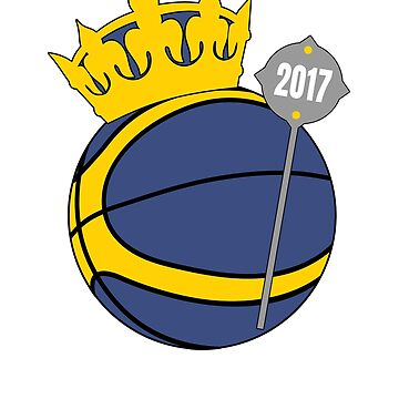 Golden State Champions King Basketball by 3js-unlimited
