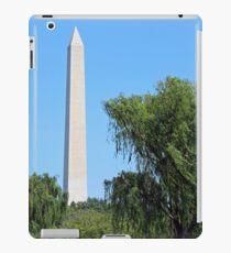 Washington Monument Weeping Willow Trees iPad Case/Skin