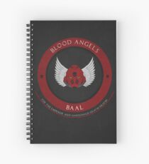 Blood Angels Style Spiral Notebook