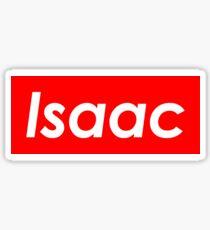 Isaac Supreme Sticker