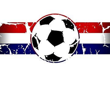 USA Soccer Team Fan by 3js-unlimited