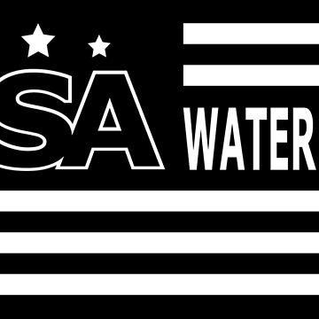 USA WATER POLO FLAG by Pernik17