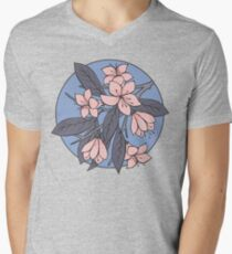 Sakura Branch Pattern - Rose Quartz + Serenity T-Shirt
