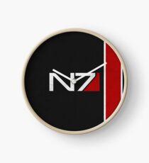 N7 Iconic Design Clock