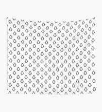 penguin seamless doodle pattern Wall Tapestry