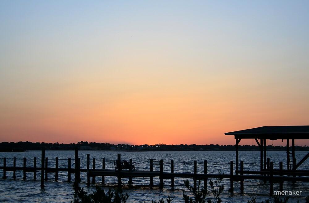 sunset, Daytona Beach FL by rmenaker