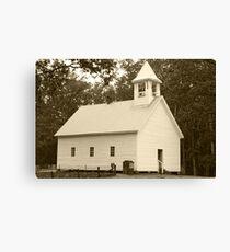 Primitive Baptist Church Canvas Print