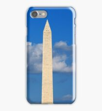 Washington Monument Clouds iPhone Case/Skin
