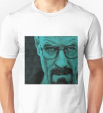 Breaking Bad: Walter White Polygon Portrait Unisex T-Shirt
