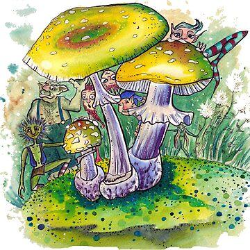 Pilzwald - Fairy tale by Gnomenfrau