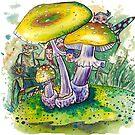 Pilzwald - Fairy tale von Gnomenfrau