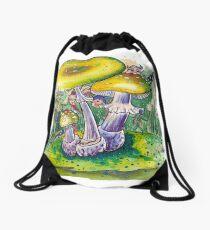 Pilzwald - Fairy tale Drawstring Bag