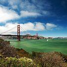 Golden Gate Bridge by Ryan Houston