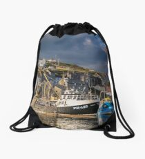 Evening at Mevagissey, Cornwall Drawstring Bag