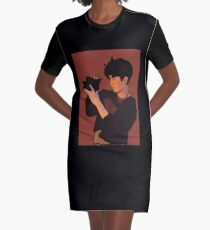 Lay Lotto Graphic T-Shirt Dress