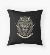 Grappling / BJJ - Samurai Emblem Throw Pillow