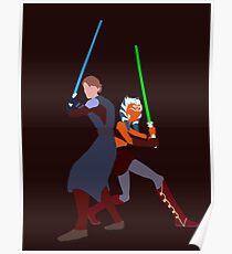 Star Wars: Anakin and Ahsoka - Master and Padawan Poster