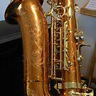 Saxophone Engravings by BlueMoonRose