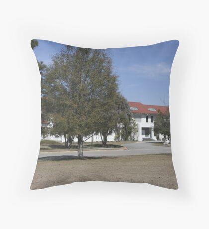 Old Naval Hospital Charleston, SC Throw Pillow