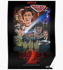 Stranger Things Season Two Fan Poster Poster