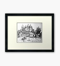 Chateau de Combourg France 1016ad Framed Print