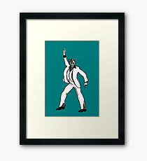 Saturday Night Cyberman Framed Print