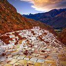 Salt Flats, Peru by Richard Mason