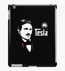 Nikola Tesla Godfather Theme iPad Case/Skin