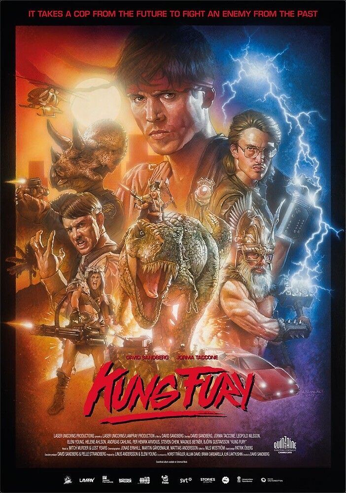 Kung Fury by GenoApparell