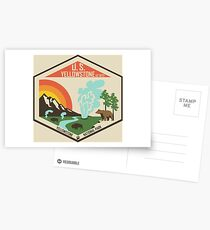 Yellowstone National Park Postcards